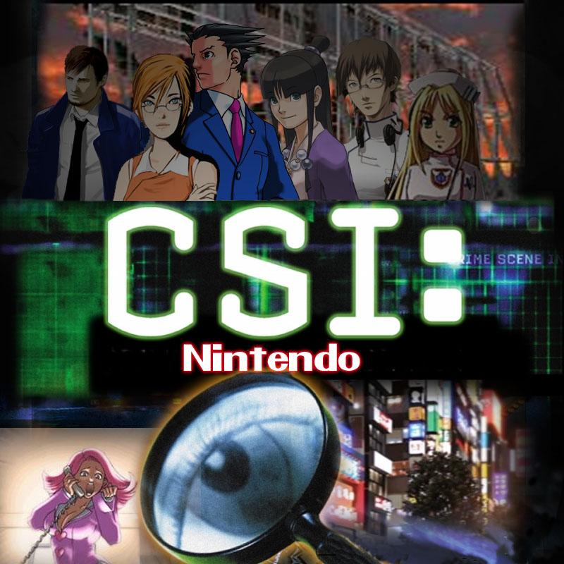CSI: Nintendo by JessicaRaven