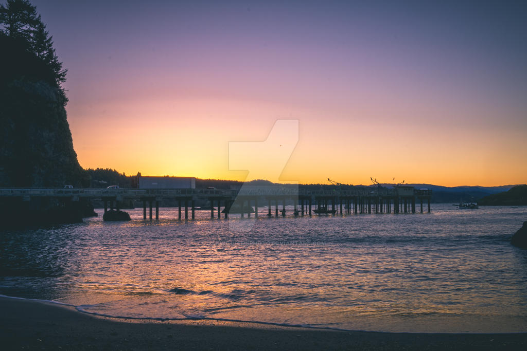 Trinidad Sunrise by DanWilliamsPhoto