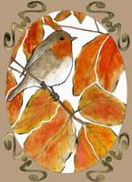 Orange Fluffy by MithriLady