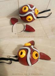 Princess Mononoke - Mask by MithriLady