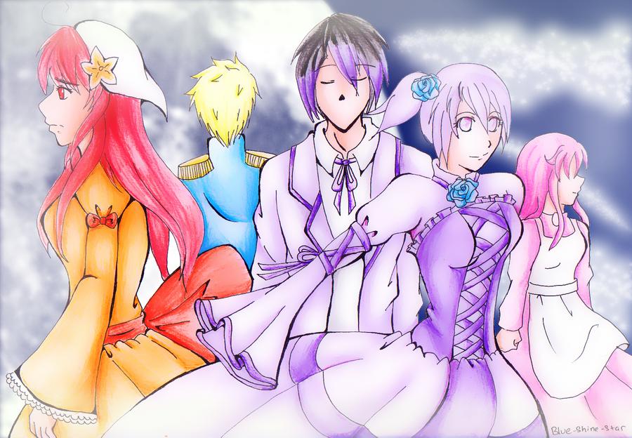 CR: Evil Saga by Blue-Shine-Star