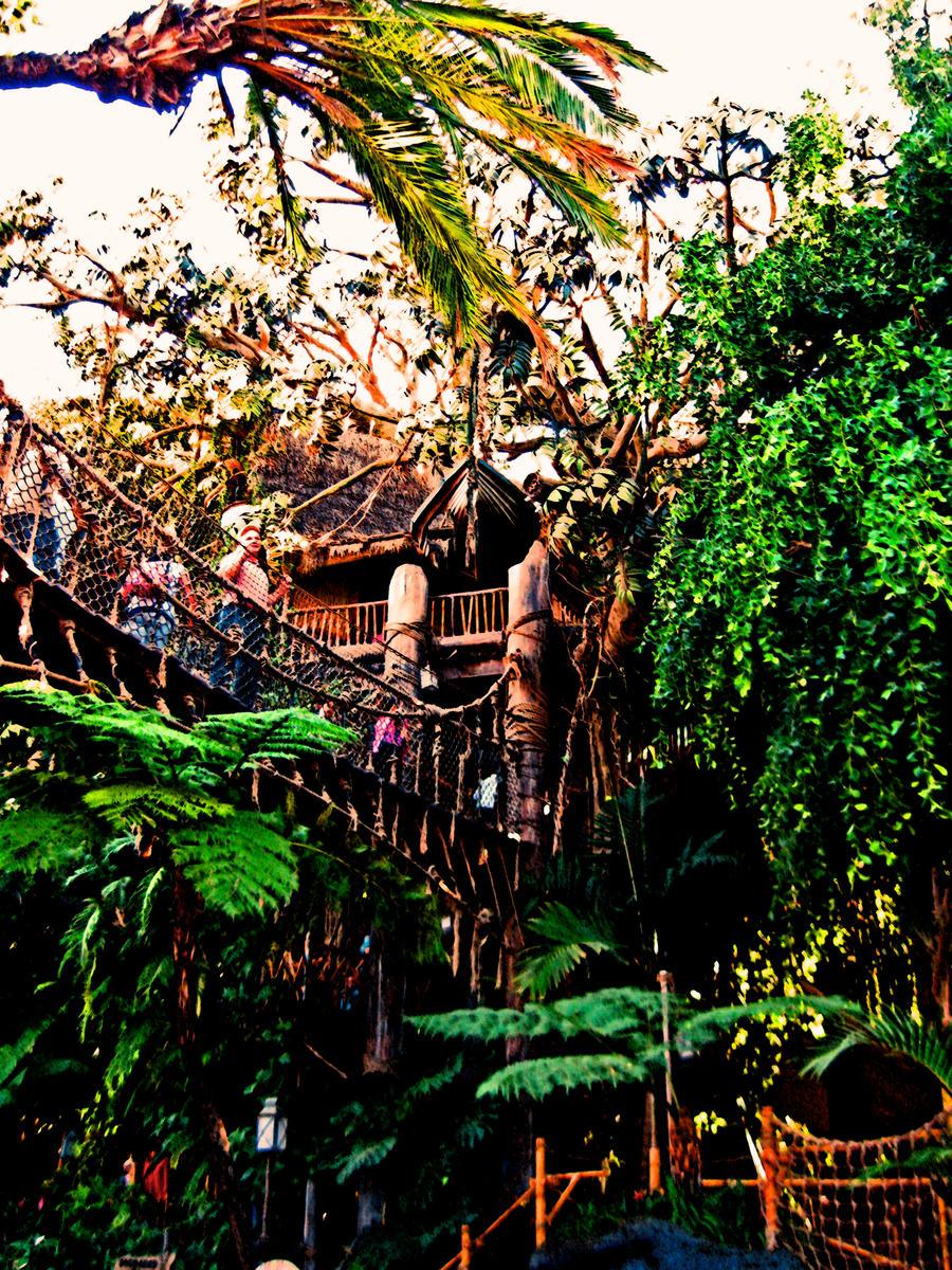 Tarzan's Treehouse Walk through - YouTube