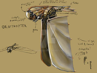 Ornithopter for IronCast