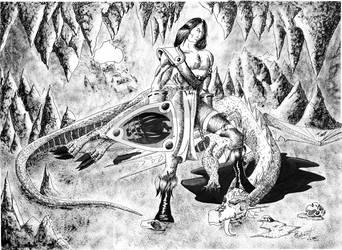 Dragon's Hunter by RobertMello