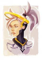 Overwatch: Mercy by jayoh28