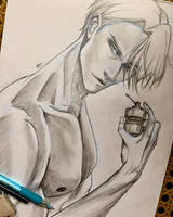 Victor (vitya) by miothedaydreamer