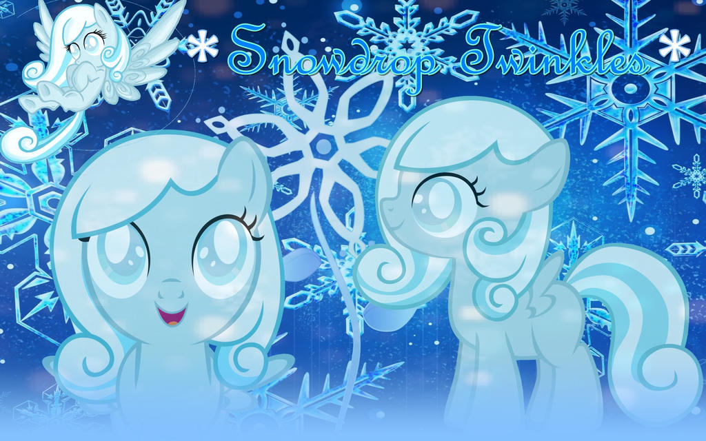 Snowdrop Twinkles by aniaeditions12