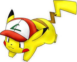 Pikachu by nina2shadow