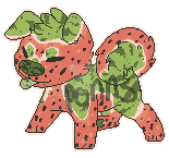Watermelon Dog Adopt by Ponns
