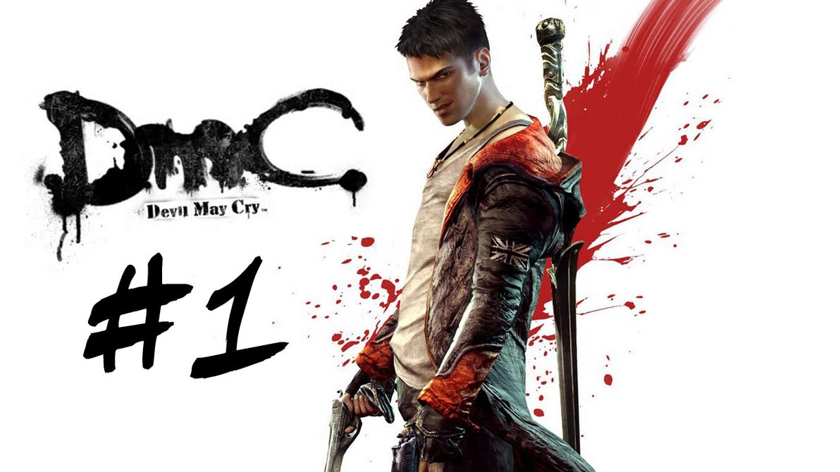 DMC: Devil May Cry YT logo by krysztalzg