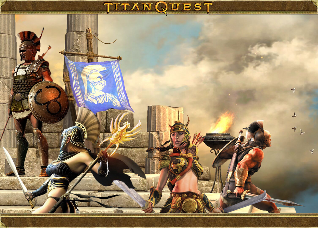 Titan Quest YT Logo by krysztalzg