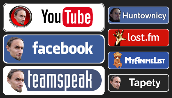 Social icons by krysztalzg