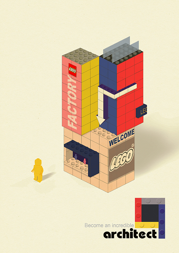 LEGO Publicity by S-im