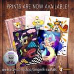 GingerBread Arts SHOP!