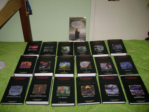 My Tolkien's books by juliann108