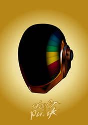 Daft Punk Fan Art: Guy Manuel Helmet