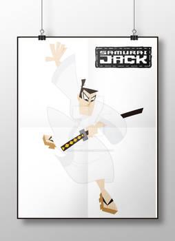 Cartoon Network Fan Art: Samurai Jack Poster