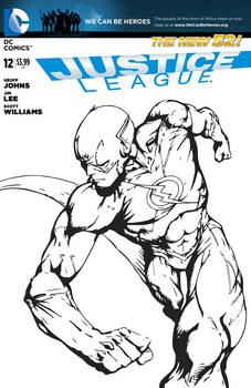 The Reverse Flash (Blank Cover)