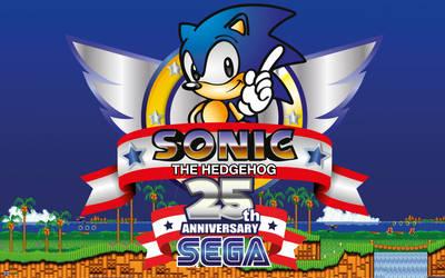 Sonic The Hedgehog 25th Anniversary Tribute