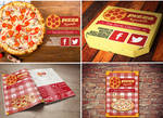Pizza Xquisita (Proyecto De Identidad De Imagen) by RobertoJOEL1307