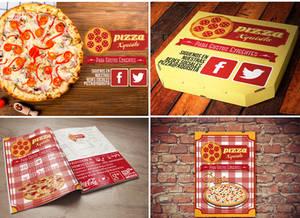 Pizza Xquisita (Proyecto De Identidad De Imagen)