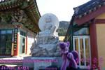 Temple by Seongsan Ilchulbong by TwilightSemyaz