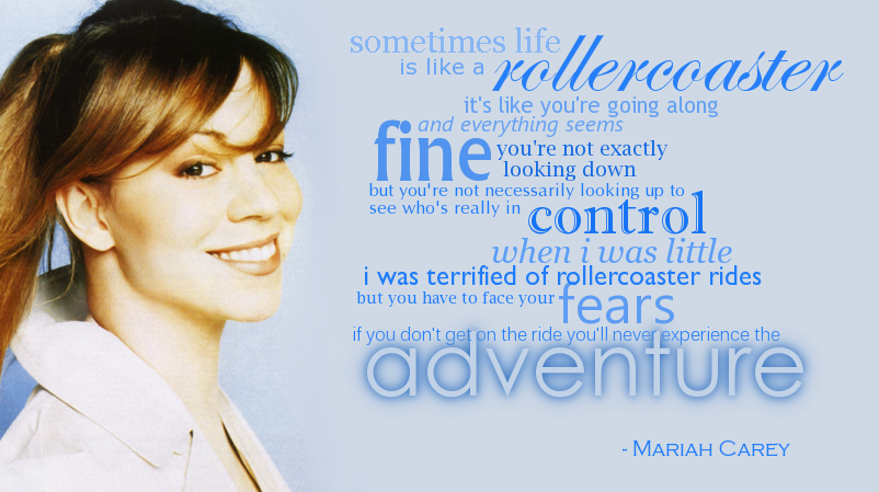 Mariah Carey Quote 2 By Sienetta