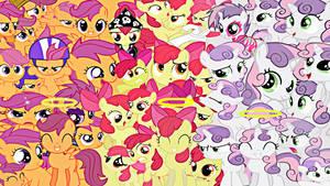 Cutie Mark Crusaders Wallpaper
