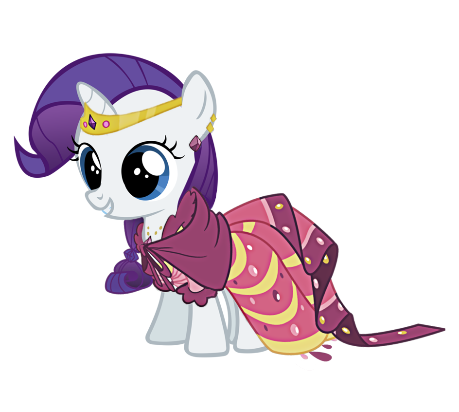 Rarity as a Filly and Foal - Mane 6 fillies - Fimfiction