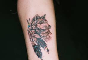 wolf by katyadraco