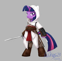 MLP+AC Twilight Sparkle as Altair by KvOrias23