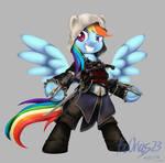 MLP + AC Rainbow Dash as Edward Kenway