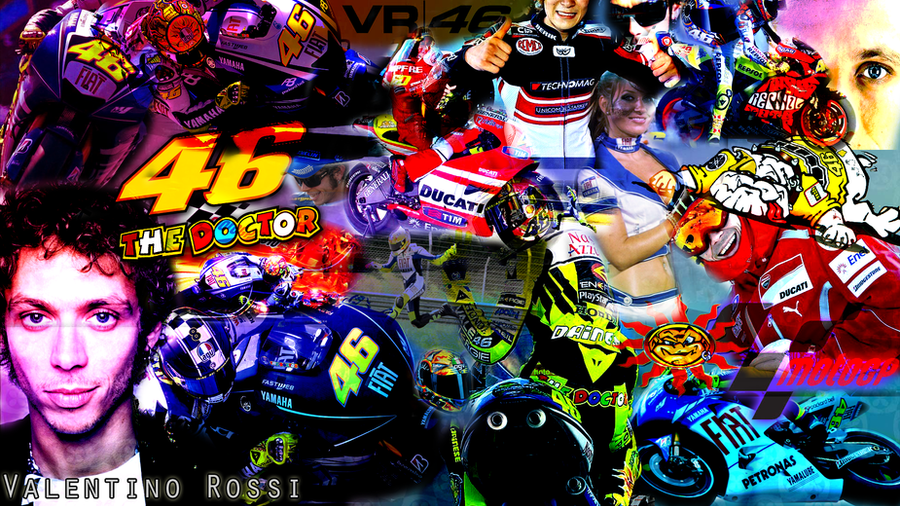 Valentino rossi wallpaper by jakec 94 on deviantart valentino rossi wallpaper by jakec 94 voltagebd Choice Image