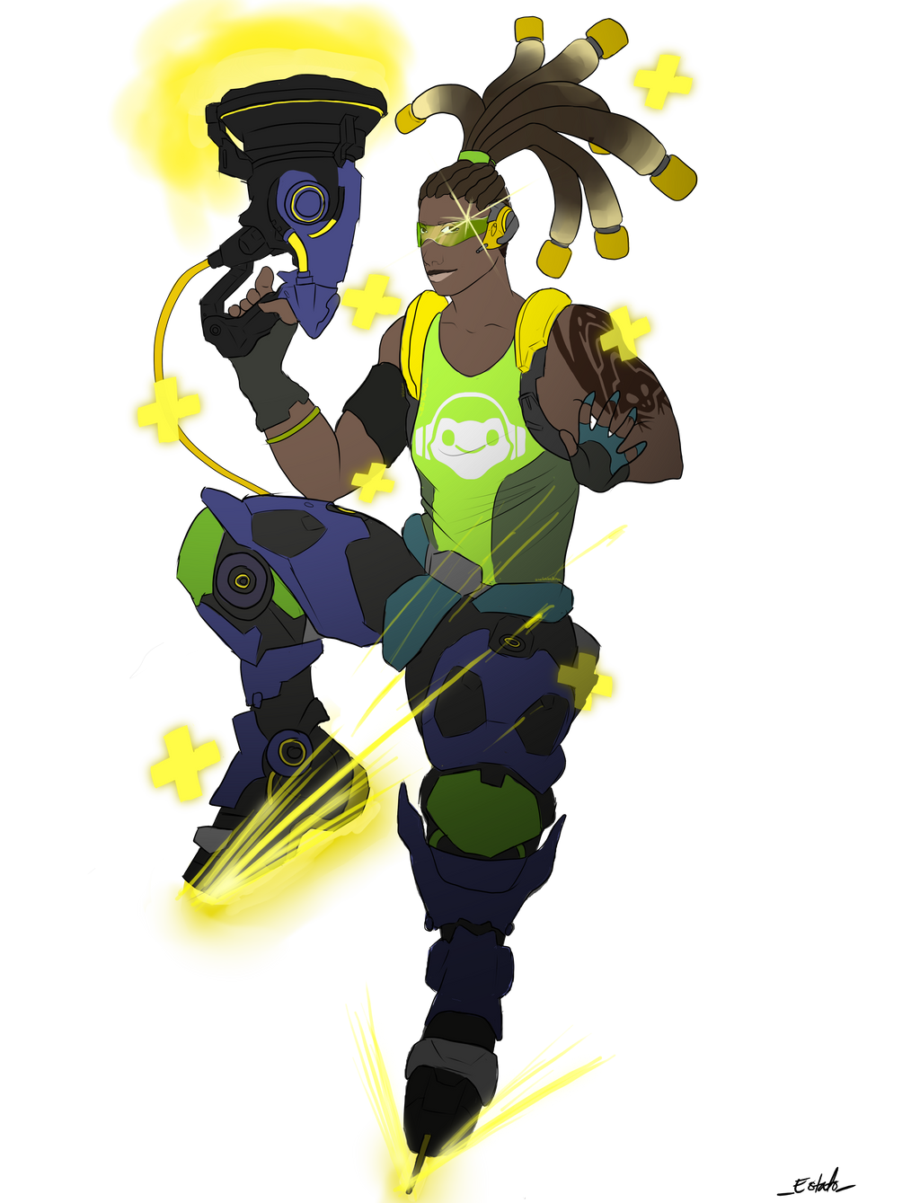 overwatch lucio wallpaper