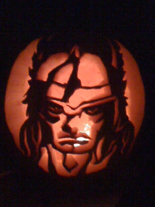 Thor Pumpkin Carving Patterns Thor Pumpkin Carving by