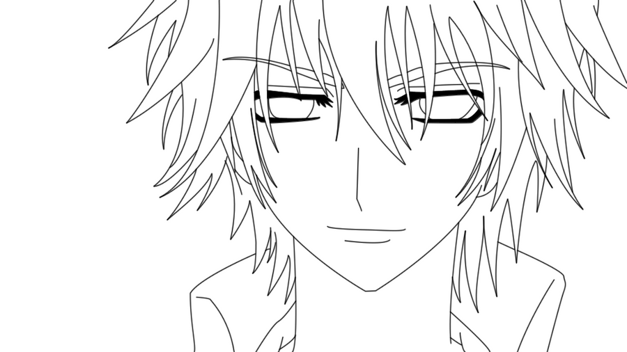 anime vampire knight coloring pages - photo#37
