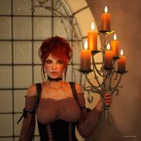 Kerzenlicht by renderdreh