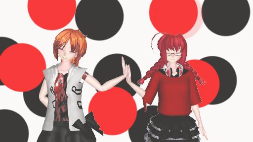 Ginger and Emo by hatorikakashi