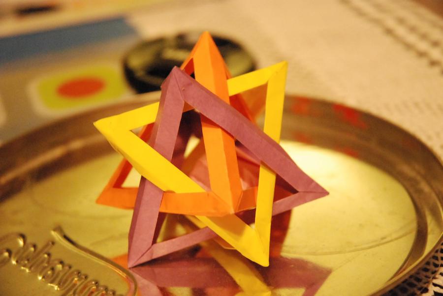 Triangle Modular Origami By Lingxu LM