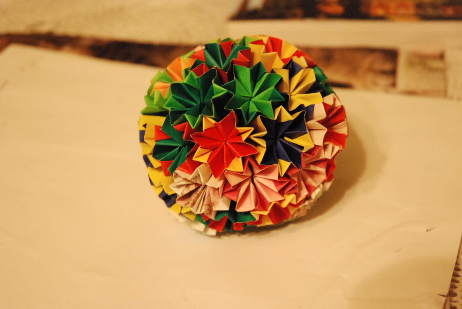 Flower ball modular origami by lingxu lm on deviantart flower ball modular origami by lingxu lm mightylinksfo