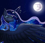 Princess Luna (Open Collab by MinElvi)