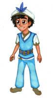 Aladdin OC - Prince Xavier