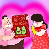 A Valentine Birthday by Jackie-SugarSkull