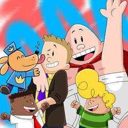 Dav Pilkey's Super Birthday by Jackie-SugarSkull