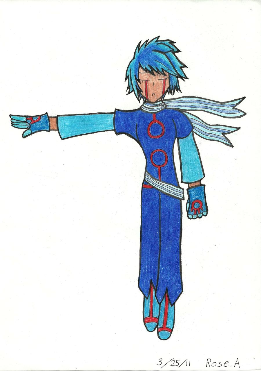 Kyogre Human Form