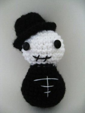 Amigurumi Wire Skeleton : Amigurumi Skeleton Groom by ViVoRiNo99 on DeviantArt