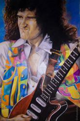 Brian May 1992 by DrawnByYou