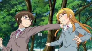 Collared catfight