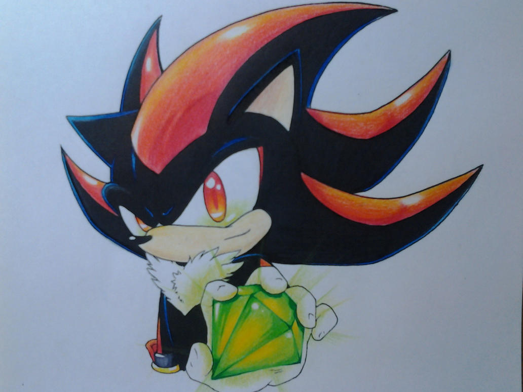 Shadow: The green emerald by Dash-The-Cheetah on DeviantArt