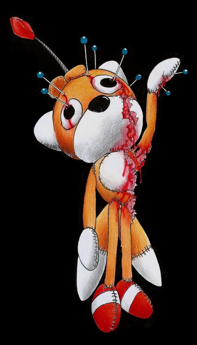 Tails Doll: Dummy for voodoo by Dash-Metal-Cheetah